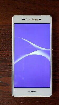 Sony Xperia Z3v D6708 - 32GB - White (Verizon) Smartphone