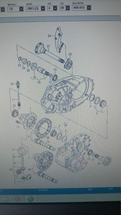"Getriebe 02G ""Differential"""