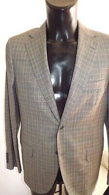 Belvest Suit Tailoring New Size 50 Frescolana Prim-Estate Check 780,00 sh353