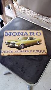 Holden Monaro 327 Tin Poster Warilla Shellharbour Area Preview