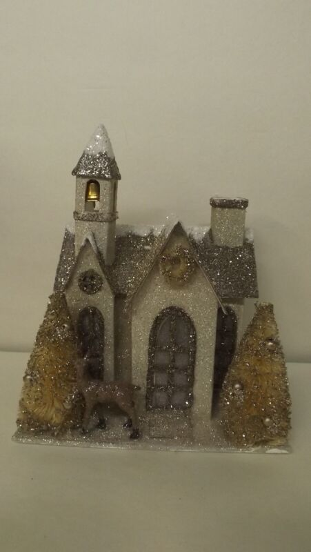 Bethany Lowe Putz The Old Church LC6427 New