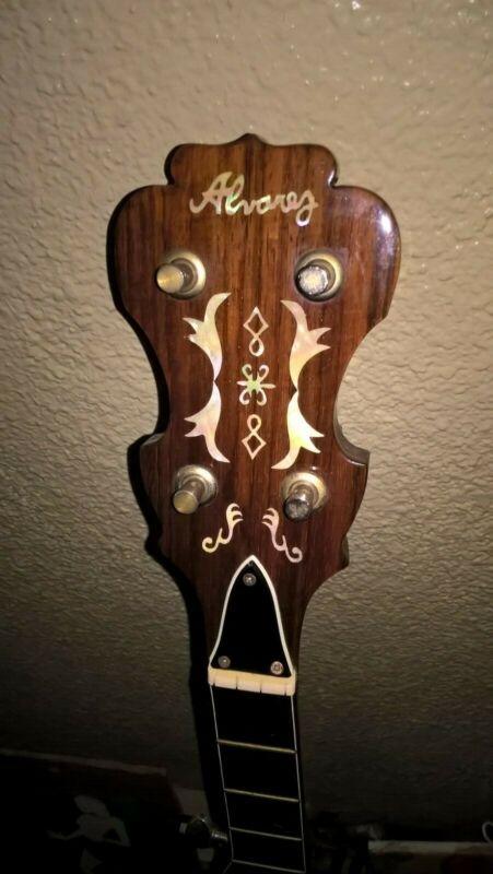 Alvarez Bowtie Banjo Vintage 70