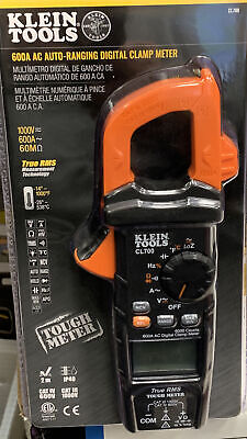 Klein Tools Ac Auto-ranging Trms Digital Clamp Meter Cl700