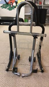 Front and Rear Motorcycle Stand