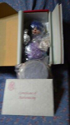 NIB Marie Osmond Doll Rag-A-Muffin Blueberry Muffin 6 Inch High C24405