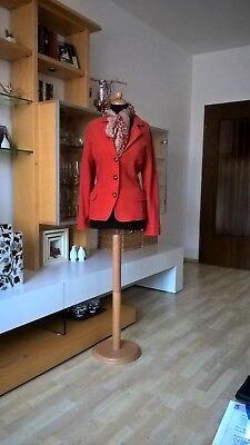 GERRY WEBER Blazer Wolle Gr 42 orange warm und stylisch Winter*** ()