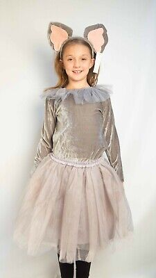 Pottery Barn Kids Elephant Costume Dress Tutu Kids 7 8