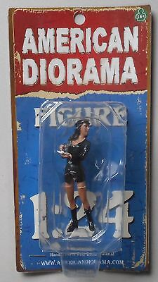 "COSTUME BROOKE AMERICAN DIORAMA 1:24 Scale Figurine 3"" Female LADY Figure"