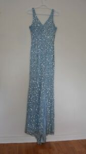 Shine like a star with blue evening dress&just for $100