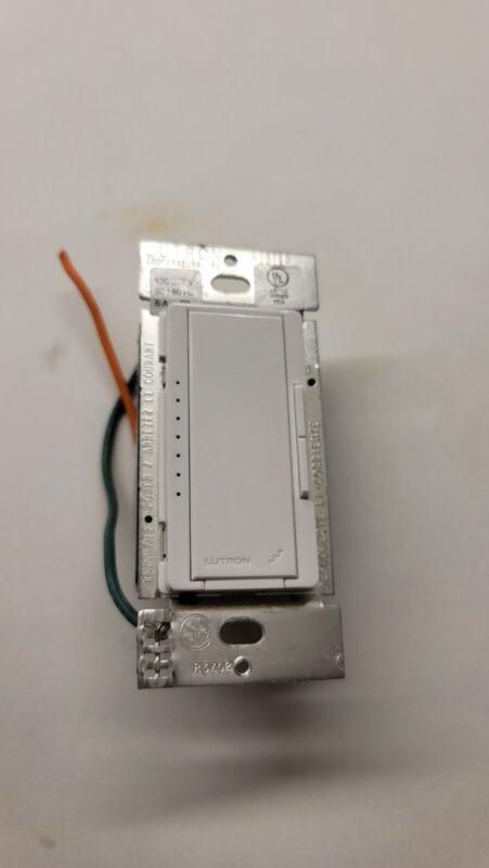 RadioRA 2 Neutral Wire Dimmer, 6A, White By Lutron RRD-F6AN-DV-WH