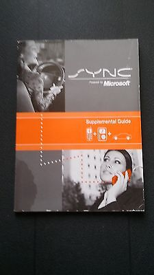 2009 Ford Lincoln SYNC Owners Manual Supplement - Mustang Fusion  2009 Sync
