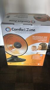 Comfort Zone radiant heater (New Product)