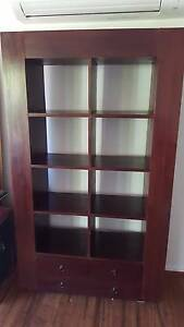 Balinese style bookcase/display cabinet Charlestown Lake Macquarie Area Preview