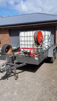 tandem trailer set up as water carter/fire fighter Maiden Gully Bendigo City Preview