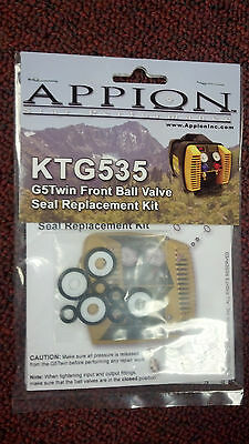 Appion Recovery Unit Front Ball Valve Seal Kit Part Ktg535