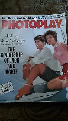 Photoplay Magazine Courtship of John F Kennedy & Jackie March 1964