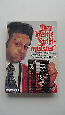 Der kleine Spielmeister - Hans Rosenthals Quizspiele für Mädchen und Buben (Sport-spiele Für Mädchen)