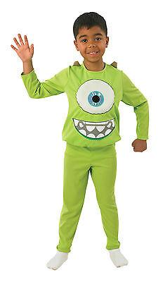 Mike Deluxe Kostüm Monsters University Monster Uni grün M L - Monster Uni Kostüm