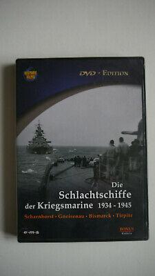 Die Schlachtschiffe der Kriegsmarine 1934-1945 - DVD Die Marine Dvd
