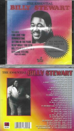 BILLY STEWART-ESSENTIAL/GREATESTHITS-29 CHESS ORIGINALS-NEW SEALED IMPORT CD