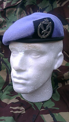 Army Air Corps Beret and Cap Badge Size 58 Officer Quality