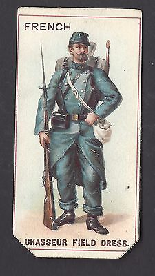 COPE - UNIFORMS (CIRCULAR MEDALLION BACK) - FRENCH, CHASSEUR FIELD DRESS