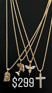 10K GOLD CHAIN COMBOS STARTING @ $299