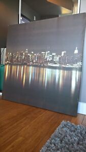 New York skyline canvas print / picture art