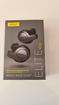 Jabra 65t Elite True Wireless Earbuds New