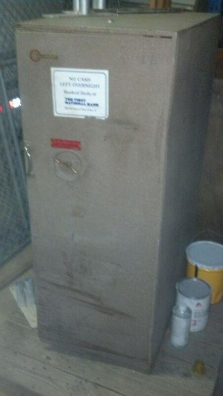 MOSLER DRAWER TYPE SAFE WITH POCKET FOR DOOR