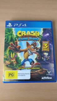Crash Bandicoot nsane trilogy PS4, basically new