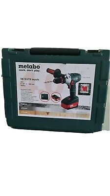 Metabo SB 18 LTX IMPULS 18V Cordless Drill for sale  Shipping to South Africa