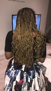 Reliable African braider here. Call 6477658147 for your braids