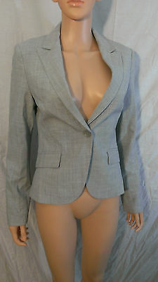 NEW Gorgeous Womens Express Blazer Suit Jacket Light Gray Size 4 NWT - Express Suits Womens