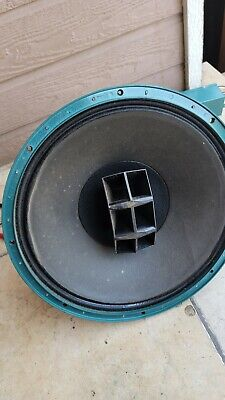 Altec 604d Duplex with n1600b crossover-all working - only One speaker