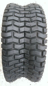 2 - 16X6.50-8 4 Ply Turf Lawn Mower Tires PAIR DS7031