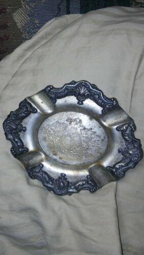 💲✨Antq Silver Plate 6x5 Tray Ornate Ind Argentina Rep Sheffield Rodin ca 1890s