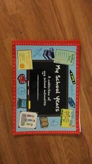 Keepsake School Years Book