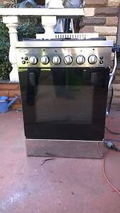 Stove Oven Emilia - 53cm Freestanding Duel Fuel Cooker, Stainles Ingleburn Campbelltown Area Preview