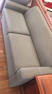 very new 2 seats wide cotton sofa bed$220