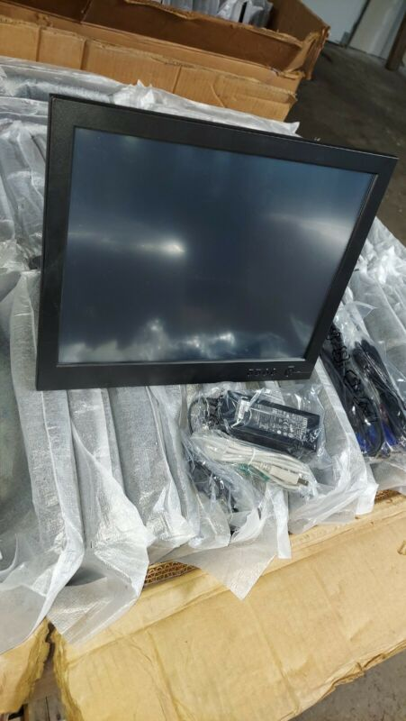 "New ICSN Pitney Bowes CT150U-L 15"" Touchscreen POS LCD Monitor, MSD2"