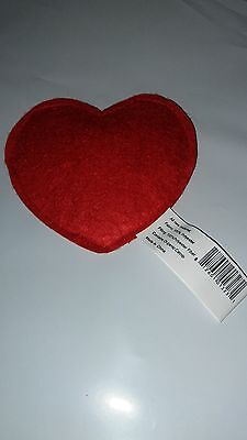 Heart Catnip Toy (IMPERIAL CAT 100% ORGANIC CATNIP FILLED POLY HEART TOY. FREE SHIPPING IN THE USA )
