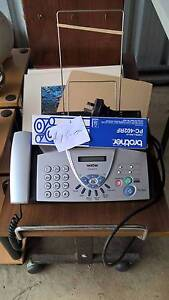 Phone Fax Machine Brother with new film roll Cooktown Cook Area Preview