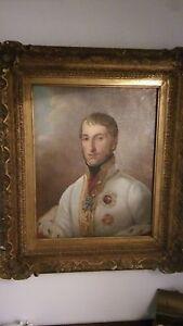 Portrait-wohl-der-junge-Kaiser-Franz-Josef-um-1850