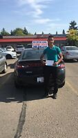 DRIVING LESSONS-FREE CAR FOR ROAD TEST, FREE P/U, D/O