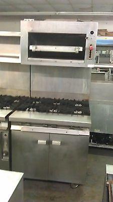 Vulcan Gh56s Restaurant Range With Salamander