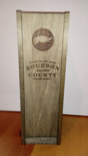 2015 Goose Island Bourbon County RARE Stout - BOX ONLY! - FREE SHIPPING PRIORITY