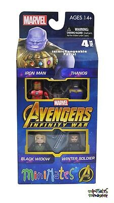 Marvel Minimates Avengers Infinity War Movie Box Set