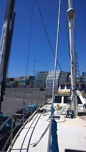 65 FOOT MAST AND COMPLETE RIG FOR CRUISING YACHT Port Melbourne Port Phillip Preview