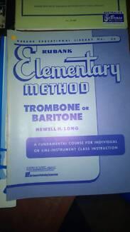 Assorted Trombone and Eflat Tuba Music Books Croydon Park Canterbury Area Preview